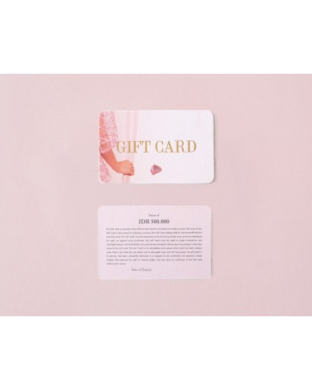 Gift Card Value IDR 1.000.000