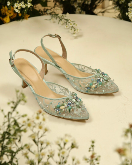 Jardin Shoes Teal