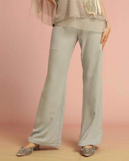 Cera Flare Pants Gray