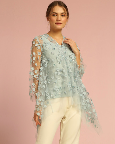 Bloom Top Soft Blue