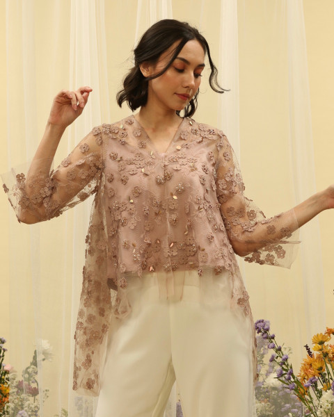 Bloom Top Soft Brown