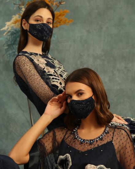 Dandelion Gray Mask