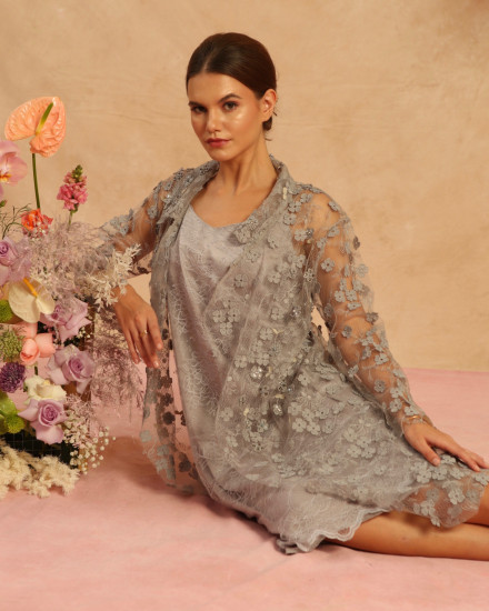 Bloom Long Outer Gray