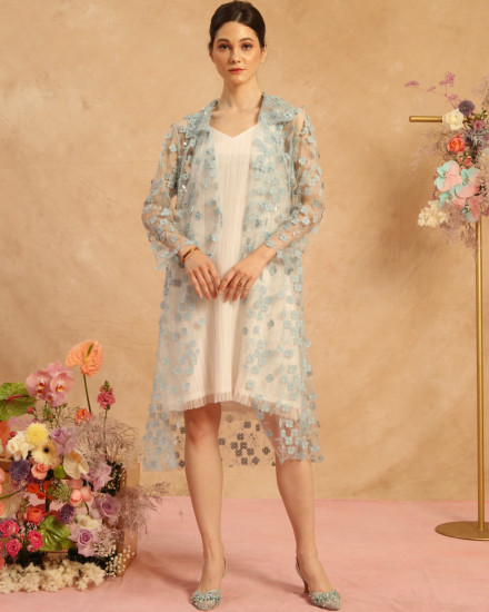 Bloom Long Outer Soft Blue