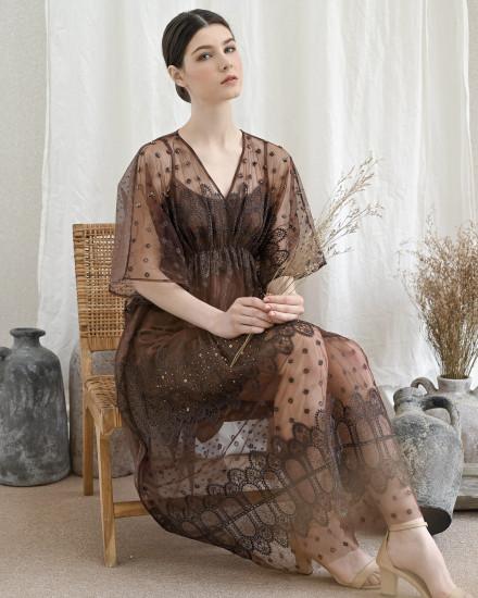 Sierra Dress Brown